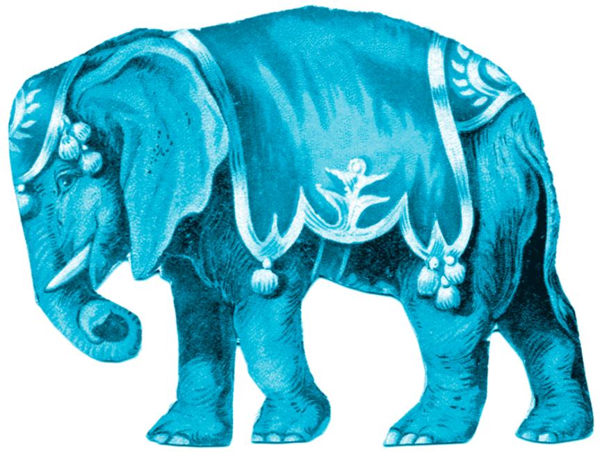 Elefantul albastru